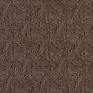 "B630 Brown, Traditional Paisley Jacquard Woven Upholstery Fabric By The Yard | 54"""" Wide"