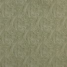 """B631 Light Green, Traditional Paisley Jacquard Woven Upholstery Fabric By The Yard 