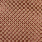 """B661 Red, Fan Jacquard Woven Upholstery Fabric By The Yard 