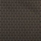 "B669 Black, Diamond Cameo Jacquard Woven Upholstery Fabric By The Yard | 54"""" Wide"