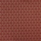 "B670 Red, Diamond Cameo Jacquard Woven Upholstery Fabric By The Yard | 54"""" Wide"