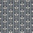 "54"""" D674 Dark Blue, Striped Scotchgarded Outdoor Indoor Marine Fabric By The Yard"