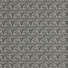 "54"""" D686 Black, Zebra Scotchgarded Outdoor Indoor Marine Fabric By The Yard"