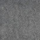 """54"""""""" D832 Grey, Abstract Swirl Microfiber Upholstery Fabric By The Yard"""