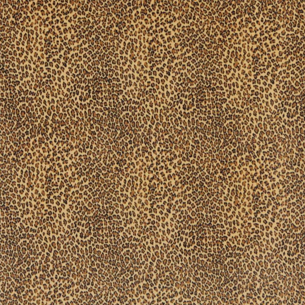 54 E400 Yellow Leopard Animal Print Microfiber