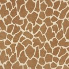 "54"""" E406 Beige, Giraffe, Animal Print Microfiber Upholstery Fabric By The Yard"