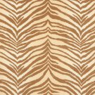 """54"""""""" E407 Beige, Tiger, Animal Print Microfiber Upholstery Fabric By The Yard"""