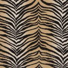 "54"""" E409 Beige, Tiger, Animal Print Microfiber Upholstery Fabric By The Yard"