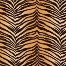 "54"""" E410 Multi Colored, Tiger, Animal Print Microfiber Upholstery Fabric By The Yard"