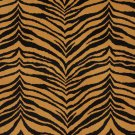 "54"""" E416 Gold And Black, Tiger, Animal Print Microfiber Upholstery Fabric By The Yard"