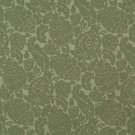 "54"""" E561 Green, Floral Jacquard Woven Upholstery Grade Fabric By The Yard"