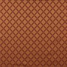 "54"""" E613, Diamond Orange, Red And Gold Damask Upholstery And Window Treatment Fabric By The Yard"