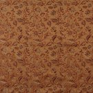 """54"""""""" E621, Floral Orange, Red And Gold Damask Upholstery And Window Treatment Fabric By The Yard"""