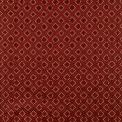 "54"""" E635, Diamond Red, Gold And Green Damask Upholstery And Window Treatment Fabric By The Yard"