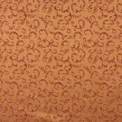 """54"""""""" E645 Abstract Floral Orange Red Gold Damask Upholstery Window Treatment Fabric By The Yard"""