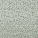 "54"""" E647 Abstract Floral Light Blue Gold Damask Upholstery Window Treatment Fabric By The Yard"