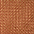 """54"""""""" E661, Diamond Orange, Red And Gold Damask Upholstery And Window Treatment Fabric By The Yard"""