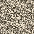 """F405 Dark Brown And Beige Floral Matelasse Reversible Upholstery Fabric By The Yard 
