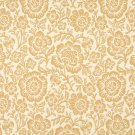 F406 Gold And Beige Floral Matelasse Reversible Upholstery Fabric By The Yard | Width: 54""""