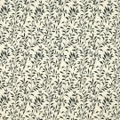 F409 Black And Beige Floral Matelasse Reversible Upholstery Fabric By The Yard | Width: 54""""