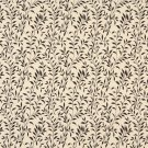 """F416 Dark Brown And Beige Floral Matelasse Reversible Upholstery Fabric By The Yard 