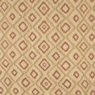 J750 Southwest Style Diamond Upholstery Fabric | Beige, Gold And Red, Upholstery Fabric By The Yard