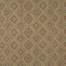 J751 Southwest Style Diamond Upholstery Fabric | Burgundy Gold Green Upholstery Fabric By The Yard