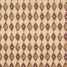 J756 Southwest Style Diamond Upholstery Fabric | Green Gold Burgundy Upholstery Fabric By The Yard
