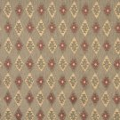 J757 Southwest Style Diamond Upholstery Fabric | Green Gold Burgundy Upholstery Fabric By The Yard