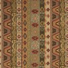 J759 Southwest Large Stripe Upholstery Fabric Green Gold Red Beige Upholstery Fabric By The Yard