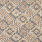 J763 Southwest Diamond Upholstery Fabric Orange Blue White Beige Upholstery Fabric By The Yard