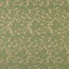 "54"""" Wide F602 Dark Green, Floral Leaf Outdoor, Indoor, Marine Scotchgarded Fabric By The Yard"