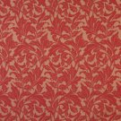 """54"""""""" Wide F606 Red, Floral Leaf Outdoor, Indoor, Marine Scotchgarded Fabric By The Yard"""