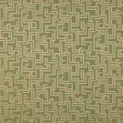 "54"""" Wide F634 Dark Green, Geometric Outdoor, Indoor, Marine Scotchgarded Fabric By The Yard"