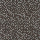 "54"""" Wide E207 Brown Blue Floral Leaf Residential Contract Grade Upholstery Fabric By The Yard"