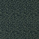 """54"""""""" Wide E210 Navy Floral Leaf Residential And Contract Grade Upholstery Fabric By The Yard"""