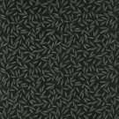 "54"""" Wide E212 Black Grey Floral Leaf Residential Contract Grade Upholstery Fabric By The Yard"