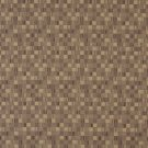 E251 Beige Small Scale Geometric Boxes Residential Contract Grade Upholstery Fabric By The Yard