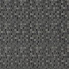E252 Black Grey Small Scale Geometric Boxes Residential Contract Grade Upholstery Fabric By The Yard
