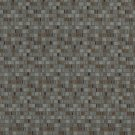 E257 Blue Brown Small Scale Geometric Boxes Residential Contract Grade Upholstery Fabric By The Yard