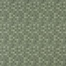 E259 Green Small Scale Geometric Boxes Residential Contract Grade Upholstery Fabric By The Yard