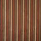 """54"""""""" Wide F565 Brown Bronze Gold Ivory Striped Damask Upholstery Drapery Grade Fabric By The Yard"""