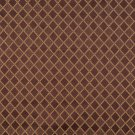 """54"""""""" Wide F579 Brown Bronze Gold Ivory Diamond Damask Upholstery Drapery Grade Fabric By The Yard"""