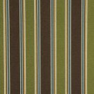 "54"""" Wide C425 Green Brown Blue Gold Striped Outdoor Indoor Marine Upholstery Fabric By The Yard"