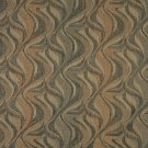 """54"""""""" Wide F190 Brown And Black, Abstract Flame Chenille Upholstery Fabric By The Yard"""