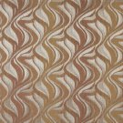 "54"""" Wide F517 Brown And Silver, Chenille Upholstery Fabric By The Yard"
