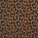 """54"""""""" Wide F526 Purple, Gold And Orange, Abstract Chenille Upholstery Fabric By The Yard"""
