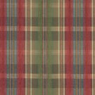 "54"""" Wide F153 Green, Blue, Red And Yellow, Plaid Chenille Upholstery Grade Fabric By The Yard"