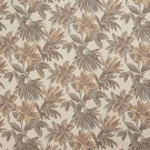 "54"""" Wide F865 Ivory, Green And Beige, Floral Chenille Upholstery Fabric By The Yard"