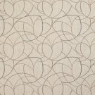 """54"""""""" Wide F869 Green, Orange And Ivory, Geometric Chenille Upholstery Fabric By The Yard"""